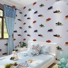 Kids Bedroom Wallpapers Compare Prices On Kids Wallpaper Boys Car Online Shopping Buy Low