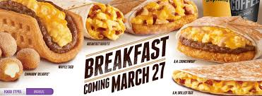 taco bell breakfast 2014. Wonderful Bell Posted By Mike Bookey On Wed Mar 26 2014 At 223 PM Throughout Taco Bell Breakfast A