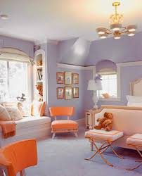 bedroom colors purple. purple wall paint and orange furniture bedroom colors