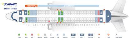 ryanair seat map boeing 737 800