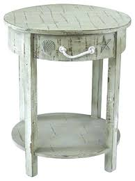 tall accent table extra tall accent tables long table amazing round with drawer seaside white shell