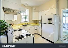 astonishing kitchens with white appliances. Shocking Old Dated Kitchen White Appliances Yellow Stock Photo Pics Of Style And Popular Astonishing Kitchens With