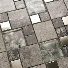 mirror mosaic tiles on mesh metal tile kitchen crystal glass stone blend bathroom wall design sheets mirror mosaic tiles on mesh
