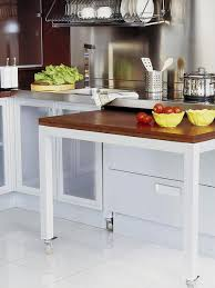 Pull Out Kitchen Table Great Also Even A Fully Functional Could Be Hidden  Inside Your Cabients