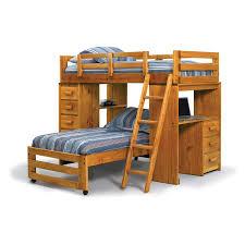 Floating Loft Bed Bedroom Large Floating Desk Twin Size Bed Over Bunk Wood Loft