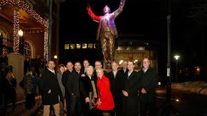 New Herb Brooks Statue Unveiled In Downtown St Paul