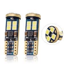 1 Máy Tính T10 LED W5W 3030 12 Đèn LED Trang Trí Nội Thất T10 LED Xe Hơi 12  V Xi Nhan CANBUS Lỗi Giá Đọc Sách bóng Đèn Pha Led Xe