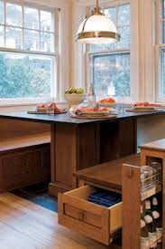 Kitchen table with storage underneath 6