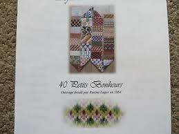 Soie D Alger To Dmc Conversion Chart Details About 10 Off Reflets De Soie Counted X Stitch Chart 40 Petits Bonheurs 22