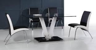 metal and glass dining room sets. view in gallery stainless steel and glass dining table from diytrade metal room sets g