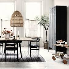 modern dining room storage. Wonderful Modern Whitemoderndiningroomwithwovenpendants To Modern Dining Room Storage L