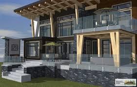 Residential Timber Design Samuelson Timberframe Design West Coast Contemporary Dirtt