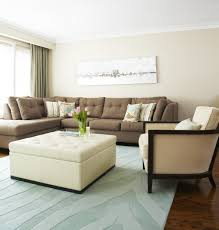 L Shaped Couch Living Room L Shape Couch Beige Microfiber And Leather L Shaped Sectional