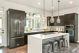 l kitchen with island l shaped modern kitchen with island and quartz counter kitchen island ideas l kitchen with island