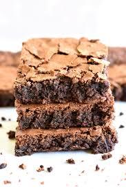 easy gluten free brownies dairy free