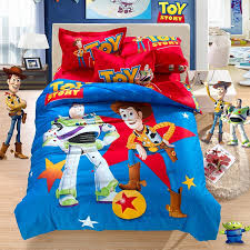 100% cotton cartoon bedding sets Madagascar Toy Story bed sheet ... & 100% cotton cartoon bedding sets Madagascar Toy Story bed sheet set  christmas items/gift kids bedding set twin/queen/king size-in Bedding Sets  from Home ... Adamdwight.com
