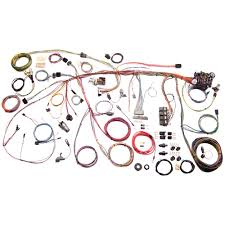 american autowire 510177 mustang wiring harness classic kit 1969 american autowire complete wiring harness classic update kit 1969
