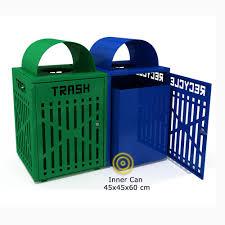 garibaldi poubelle de recyclage grande capacite pour espaces sku 8435479106168 categories designer ashtrays outdoor recycling bins