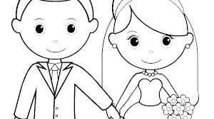 Kids Wedding Coloring Pages Coloring Book Printable Pages Coloring