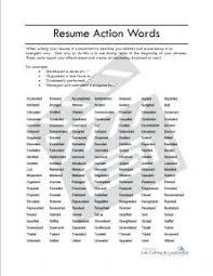 Resume Power Verbs Unitedijawstates Com