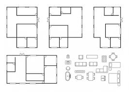 House design plans Vector   Free DownloadHouse design plans Free Vector
