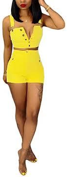 Women's <b>Two</b> Piece Denim Outfits Button Down <b>Strapless</b> Crop Top ...