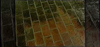 how to clean a brick patio