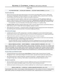 Sample Resume Usa Best Of VP Medical Affairs Sample Resume Executive Writer For R D