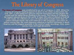 「1800  Library of Congress」の画像検索結果