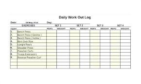 Weight Lifting Log Sheets Workout Tracking Spreadsheet Power Transformation Tracker Strength