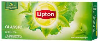 <b>Чай зеленый Lipton Green</b> Cl... — купить по выгодной цене на ...