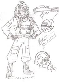 Small Picture TIE fighter pilot by lacreoguarataro on DeviantArt
