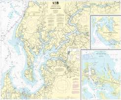 Noaa Chart Books Bluewater Books Charts Noaa 12272 Chester River Maryland