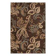 surya riley indoor nature area rug common 8 x 11 actual 7 833