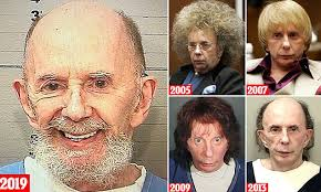 <b>Phil Spector</b>, 79, is pictured sporting a goatee, a bald head and ...