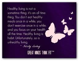 Healthy Living Quotes