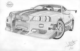 nissan skyline fast and furious drawing. twistedmethoddan 15 0 skyline 2f2f by superjay15 nissan fast and furious drawing y