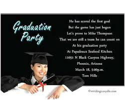 Graduation Party Invitation Template Sample Graduation Party Invitation Template How To Write A