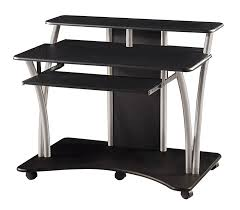 nice black computer desk black computer desk with drawers review and photo