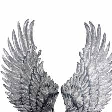 Angel Wings Applique Design Us 0 75 23 Off Sequins Patch Diy Angel Wings Patches For Kids Clothes Sew On Embroidered Patch Motif Applique 1pair Gold Silver Colors In Patches