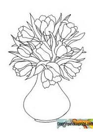 Small Picture Tulip Vase Coloring PageVasePrintable Coloring Pages Free Download