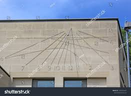 Wall Sundial Design Sundial On Wall Stock Photo Edit Now 1267272427