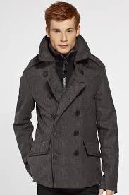 kurtki i płaszcze kurtki długie superdry kurtka classic peacoat