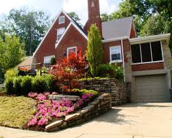 ... Large-size of Remarkable Front Yard Landscaping Inmyinterior Intended  Also Landscape Ideas A Slopedyard Front ...