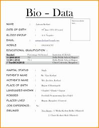 Wedding Bio Examples Luxury How To Write A Biodata For Marriage