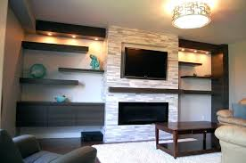 modern stone fireplace designs with home design ideas regard to wall