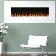 in wall mount no heat electric fireplace northwest 80 ef421s with and remote stainless steel n