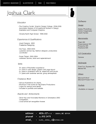 Resume With Interesting Layout But Still Traditional Enough