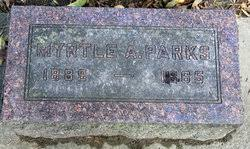 Myrtle A York Parks (1889-1965) - Find A Grave Memorial