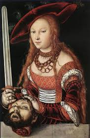 4 judith with head of holofernes renaissance lucas cranach the elder
